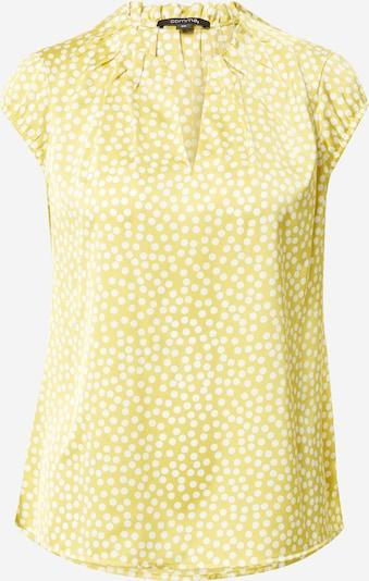 COMMA Bluse i lysegrøn / hvid, Produktvisning