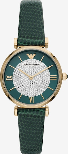 ARMANI Analog Watch in Gold / Green, Item view