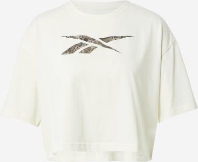 REEBOK T-Shirt in grau / oliv / weiß, Produktansicht