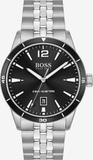 BOSS Casual Analoguhr in schwarz / silber, Produktansicht