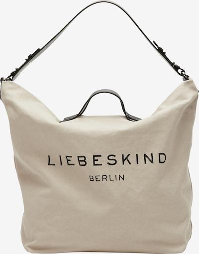 Liebeskind Berlin Shopper in kitt / schwarz, Produktansicht