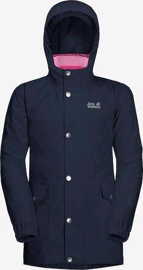 JACK WOLFSKIN Outdoor jakna 'ICY FALLS' u morsko plava / roza, Pregled proizvoda