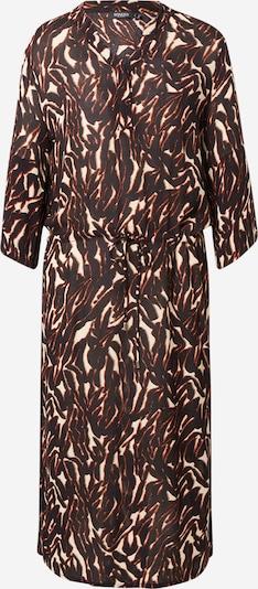 SOAKED IN LUXURY Kleid 'Zaya' in beige / rostbraun / schwarz, Produktansicht