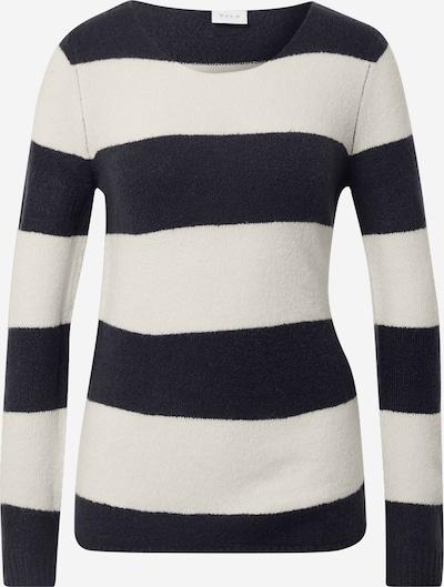 VILA Pullover 'Katay' in beige / navy, Produktansicht