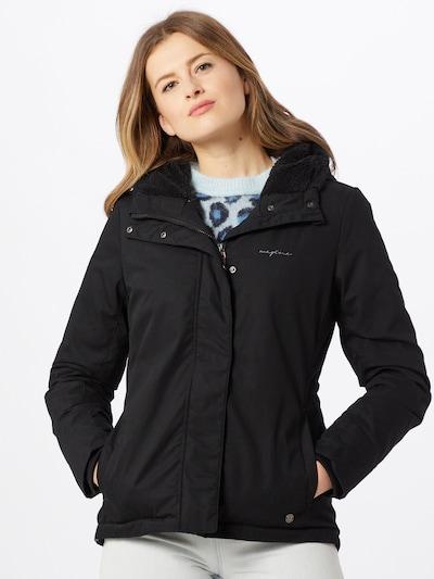 mazine Overgangsjakke i sort: Frontvisning
