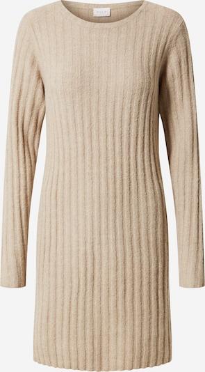 VILA Robes en maille 'Nikki' en beige, Vue avec produit