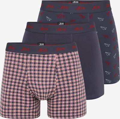 JBS OF DENMARK Boxer shorts in navy / red / white, Item view