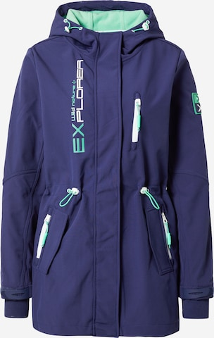 Sublevel Between-Seasons Parka in Blue