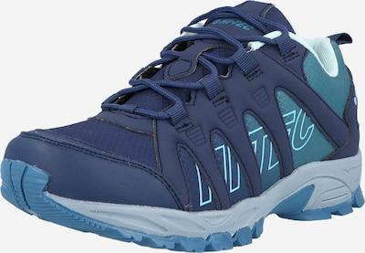 HI-TEC Chaussure basse 'WARRIOR' en bleu ciel / bleu clair / bleu violet, Vue avec produit