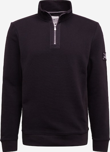 TOM TAILOR Sweatshirt in schwarz, Produktansicht