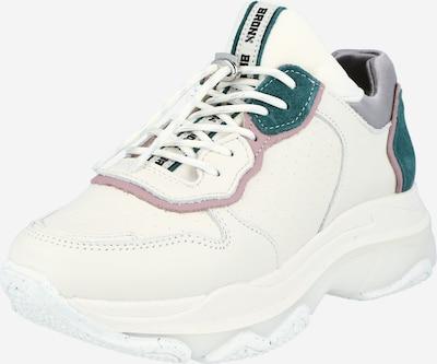 BRONX Sneakers low 'BAISLEY' in Petrol / Purple / Off white, Item view