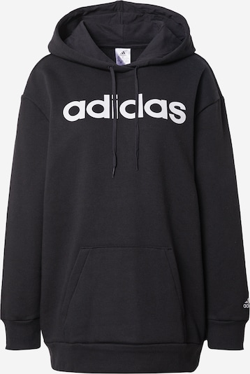 ADIDAS PERFORMANCE Sweatshirt in schwarz / weiß, Produktansicht