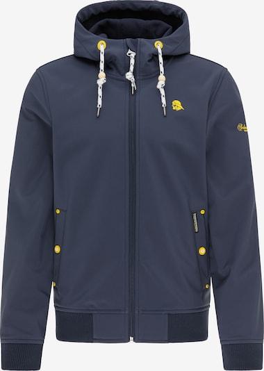 Schmuddelwedda Übergangsjacke in navy / gelb, Produktansicht