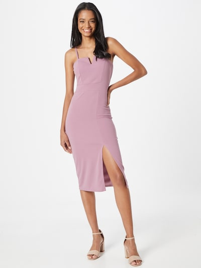 WAL G. Robe de cocktail 'ELIZA' en rose, Vue avec modèle