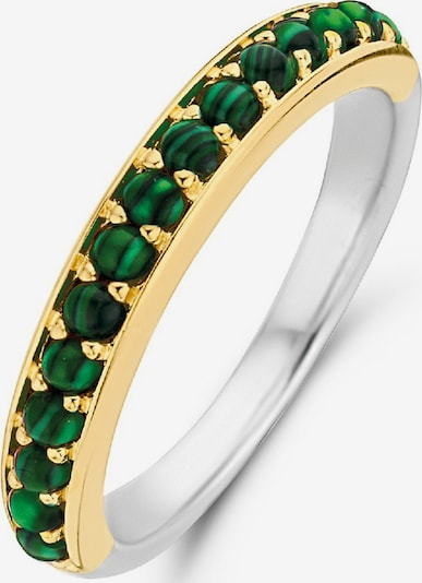 Ti Sento Milano Ring in grün / silber, Produktansicht