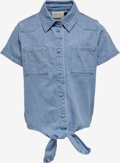 KIDS ONLY Blouse 'Lise' in de kleur Blauw denim, Productweergave