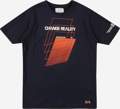 STACCATO Тениска в морскосиньо / оранжево / бяло, Преглед на продукта