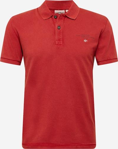 NAPAPIJRI Majica 'ELBAS' | temno modra / pastelno rdeča / bela barva, Prikaz izdelka