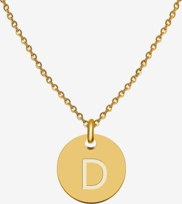 GOOD.designs Buchstabenkette 'D' in Gold