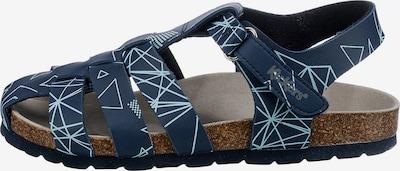 KICKERS Offene Schuhe 'SUMMERTAN' in navy / himmelblau, Produktansicht