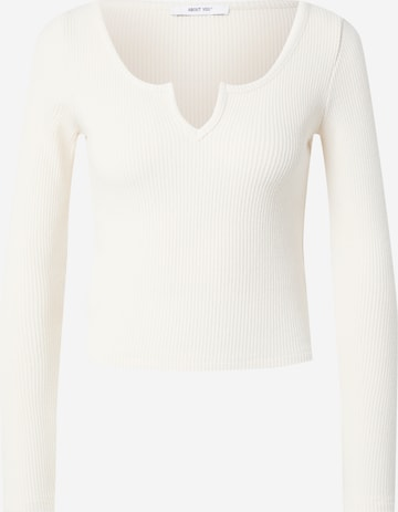 T-shirt 'Remy' ABOUT YOU en beige