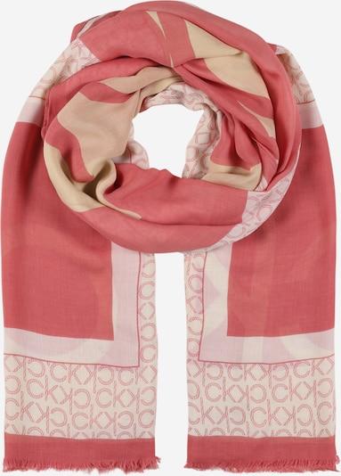 Calvin Klein Šal | svetlo bež / roza / pitaja barva, Prikaz izdelka