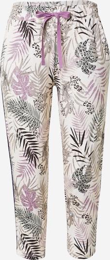 ESPRIT Pyjamahousut 'DILMA' värissä harmaa / lila / musta / offwhite, Tuotenäkymä