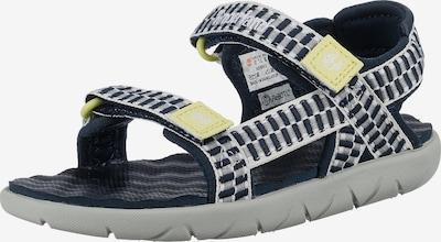 TIMBERLAND Chaussures ouvertes 'Perkins' en bleu marine / jaune / blanc, Vue avec produit