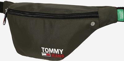 Tommy Jeans Gürteltasche in oliv / rot / weiß, Produktansicht