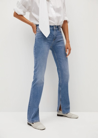 MANGO Jeans 'Bonny-i' in blue denim, Modelansicht
