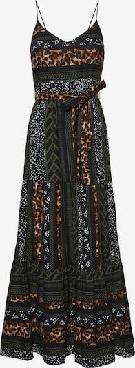VERO MODA Robe en marron / noir, Vue avec produit