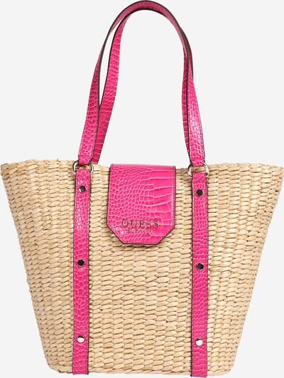 GUESS Tasche 'PALOMA' in beige / pink, Produktansicht