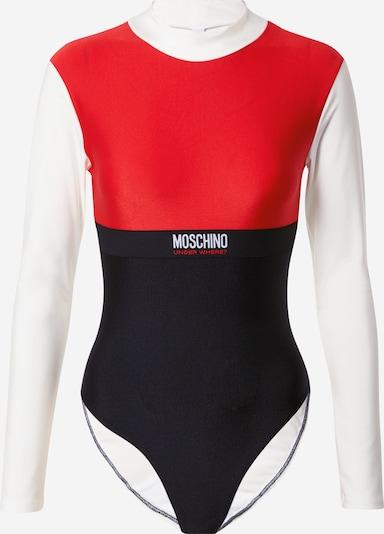 Moschino Underwear Bodi majica u miks boja / svijetlocrvena / crna / bijela, Pregled proizvoda