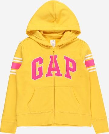Veste de survêtement GAP en jaune