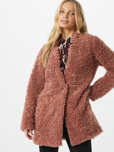 ONLY Teddy Mantel 'Dina' in braun, Modelansicht