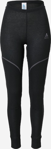 ODLO Sportsunderbukse 'X-Warm' i svart