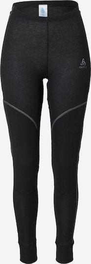 ODLO Sous-vêtements de sport 'X-Warm' en gris / noir, Vue avec produit