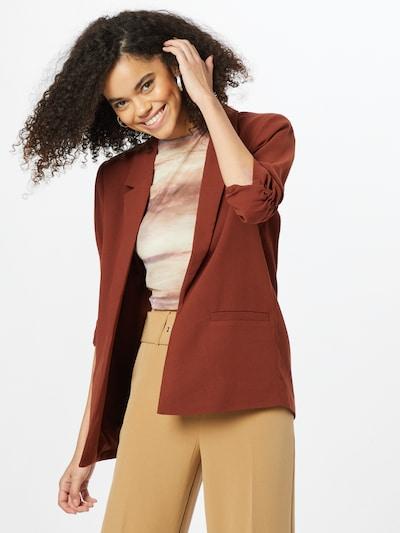 SOAKED IN LUXURY Blazer 'Shirley' in Auburn, View model