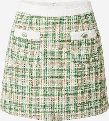 GLAMOROUS Skirt in Green