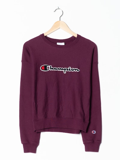 Champion Authentic Athletic Apparel Sweatshirt in M in aubergine, Produktansicht