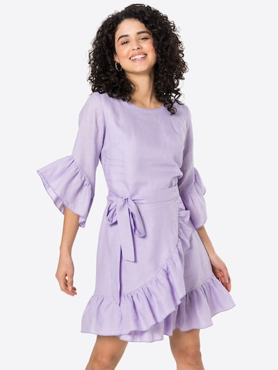 Rochie 'REBIRTH' KAN pe lavandă, Vizualizare model