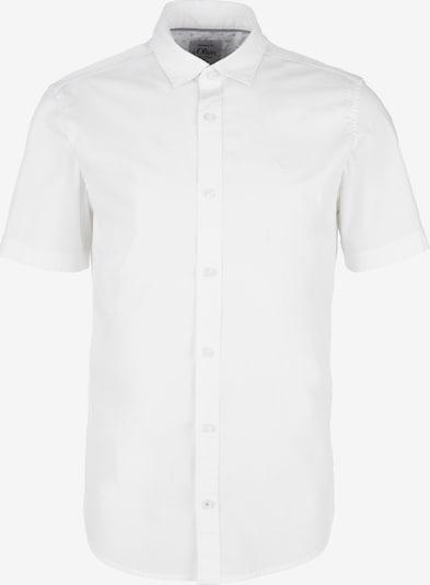 s.Oliver Kurzarmhemd in weiß, Produktansicht