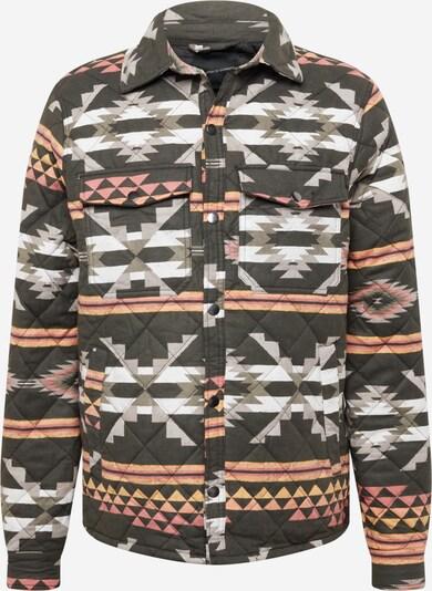 Cotton On Between-season jacket in Grey / Orange / Pink / Black / White, Item view
