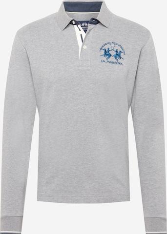 La Martina Shirt in Grey