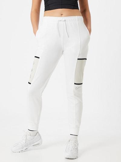 Nike Sportswear Broek in de kleur Zwart / Wit, Modelweergave