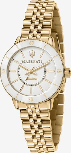 Maserati Solaruhr 'SUCCESSO' in gold, Produktansicht