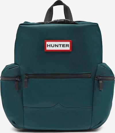 HUNTER Rucksack in petrol / melone / schwarz / weiß, Produktansicht