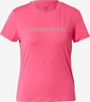 Calvin Klein Performance Koszulka funkcyjna w kolorze różowy