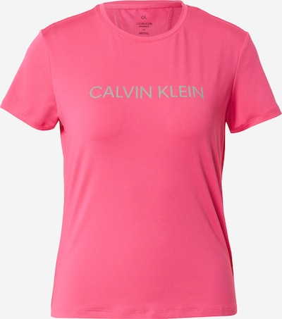 Calvin Klein Performance Sportshirt in silbergrau / dunkelpink, Produktansicht