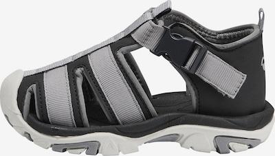 Hummel Sandale in grau / schwarz, Produktansicht
